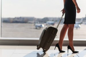 What do female business travelers do differently
